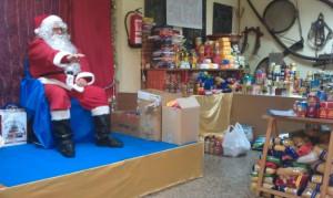 Papá Noel en la Asociación Vecinal de Patraix