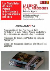 La esencia sutil de Roberto Algarra
