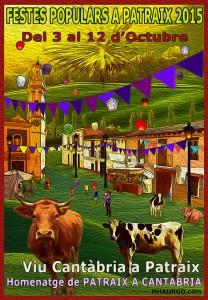 Cartel Fiestas Patraix 2015