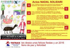 Cartell Nadal Solidari 2015