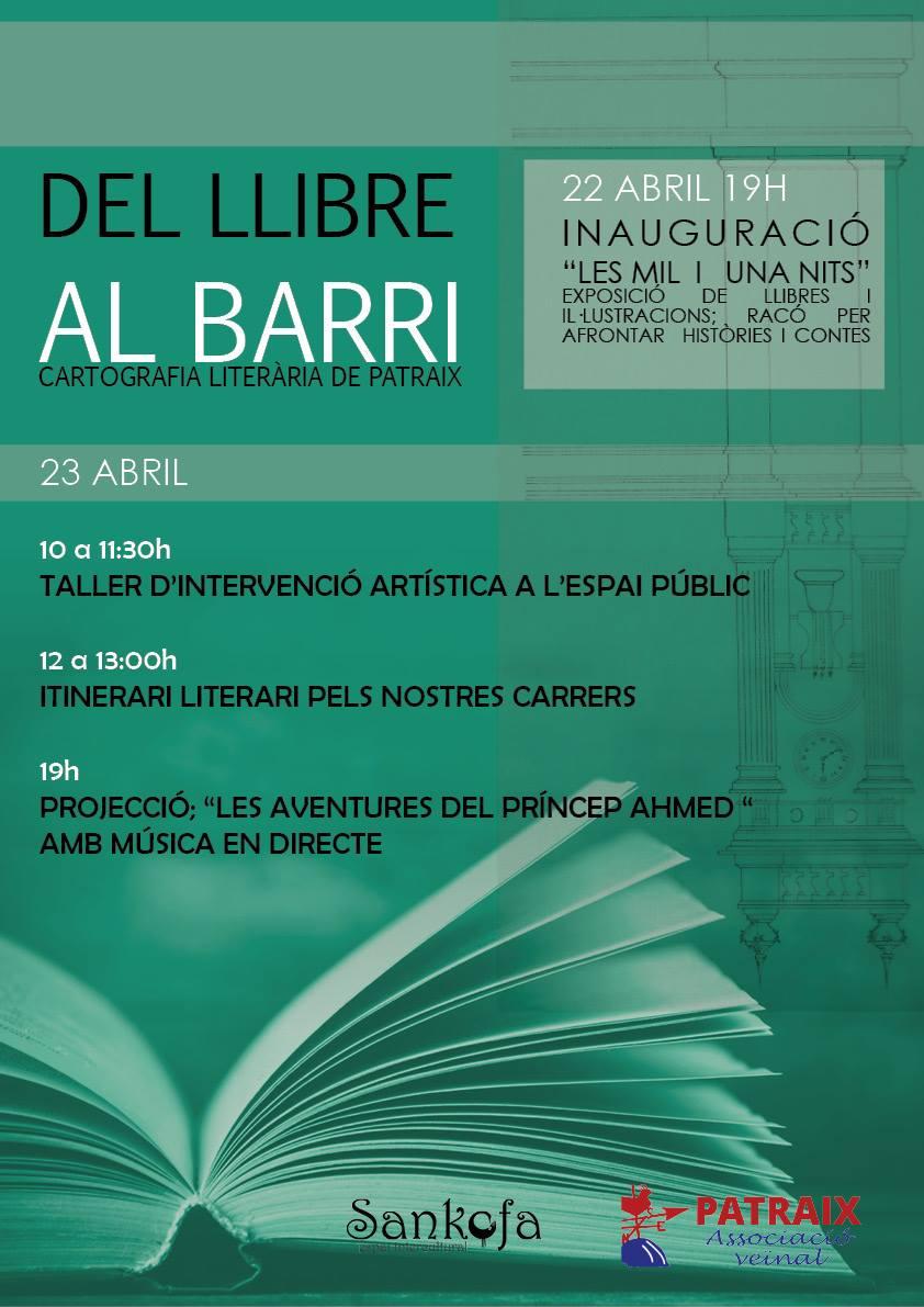 Día del Libro en el barrio, cartografía literaria de Patraix