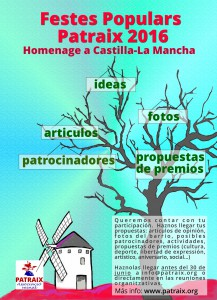 cartel ideas fiestas 2016