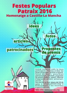 cartell idees festes 2016