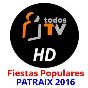 Las fiestas de Patraix en Todos Televisión