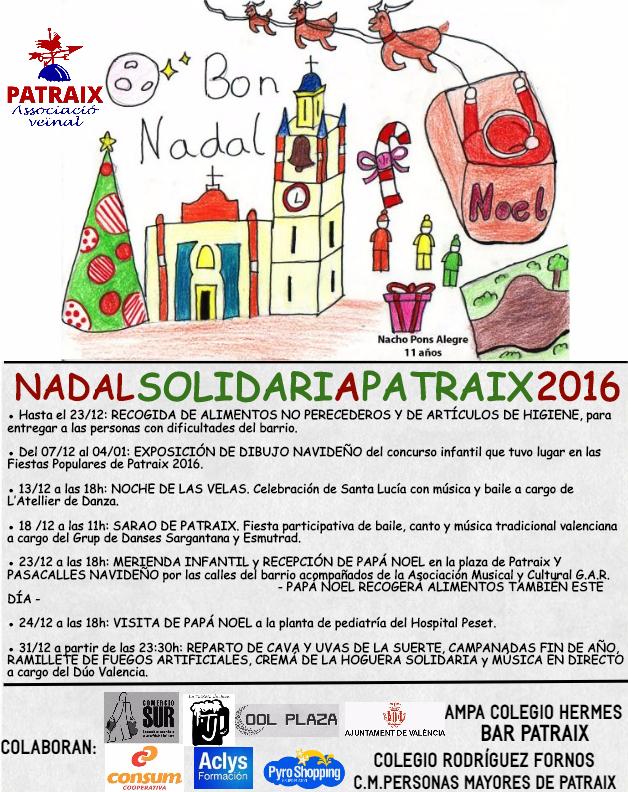 Ya es Navidad en Patraix