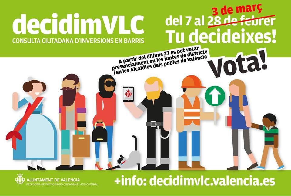 ¡ULTIMOS DÍAS PARA LAS VOTACIONES DE LA CONSULTA CIUDADANA!
