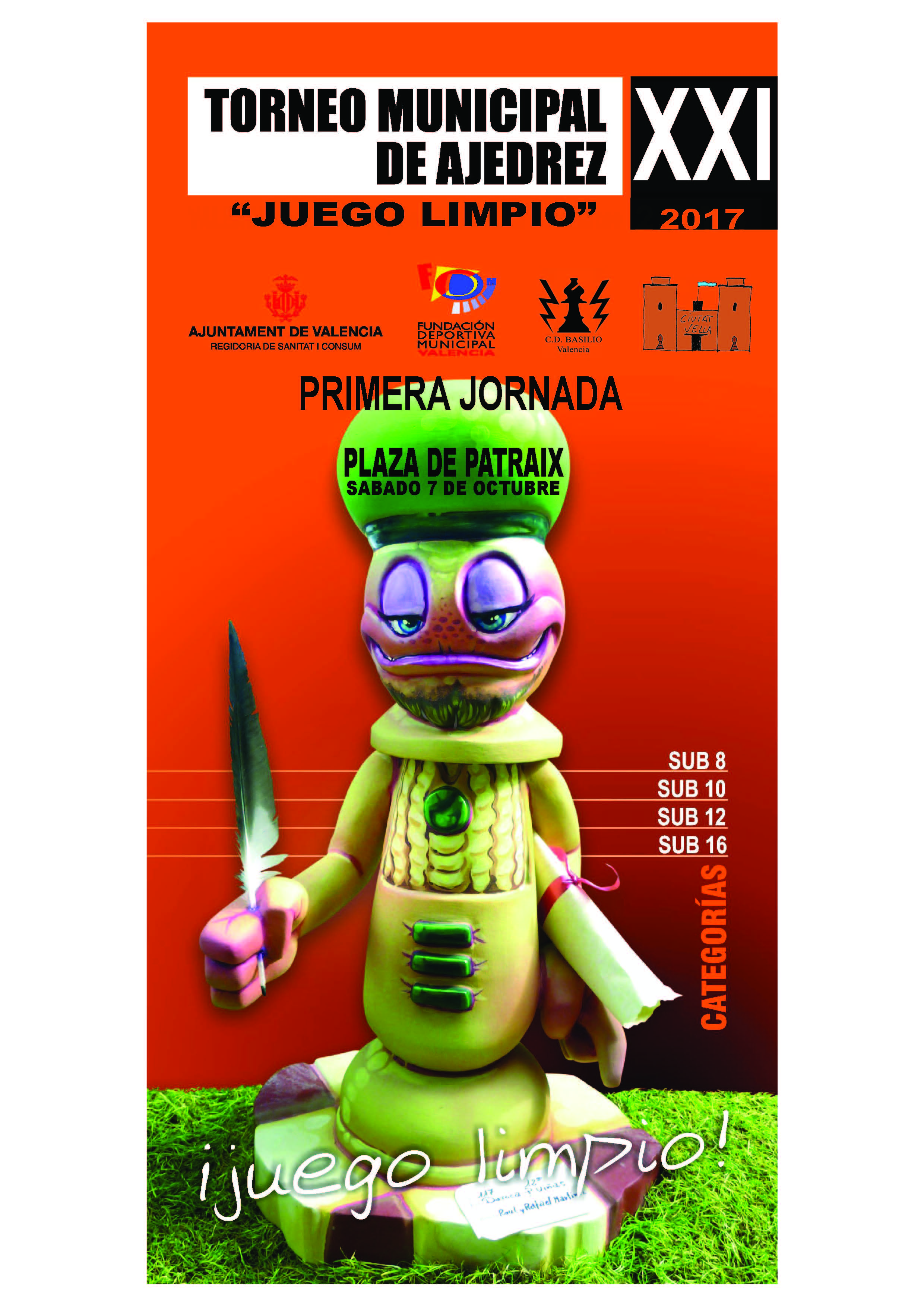 "XXI Torneo de Ajedrez ""Juego Limpio"""