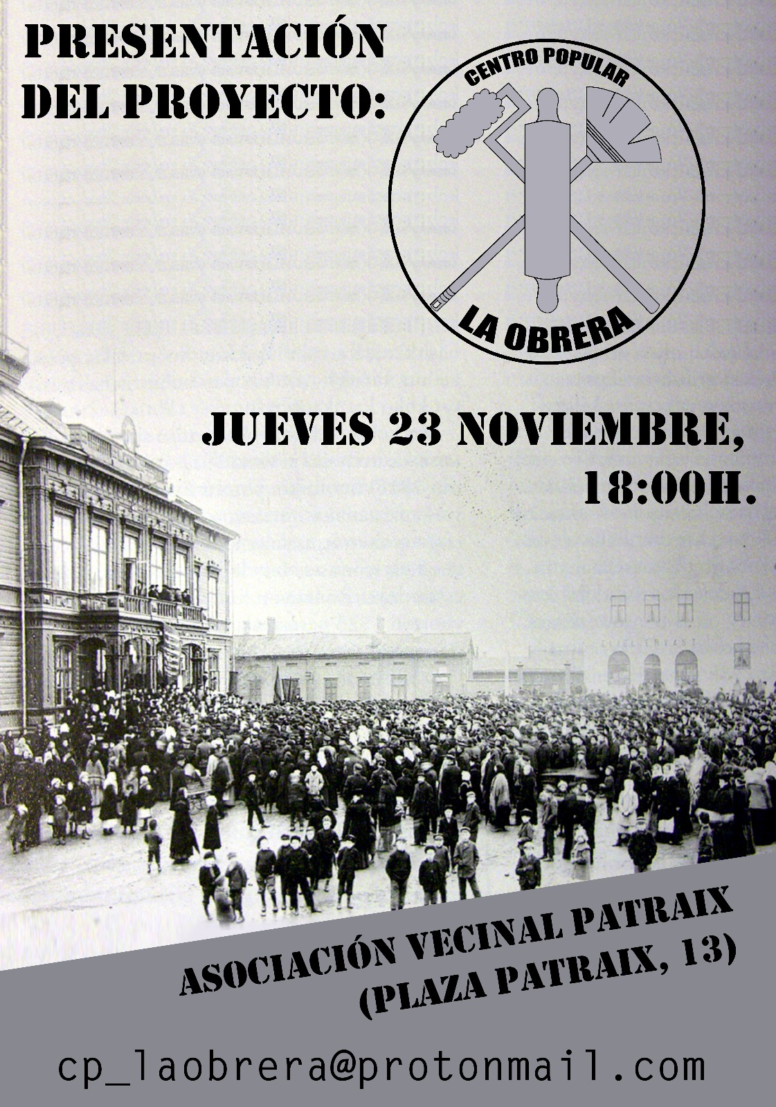 Presentación del Centro Popular La Obrera