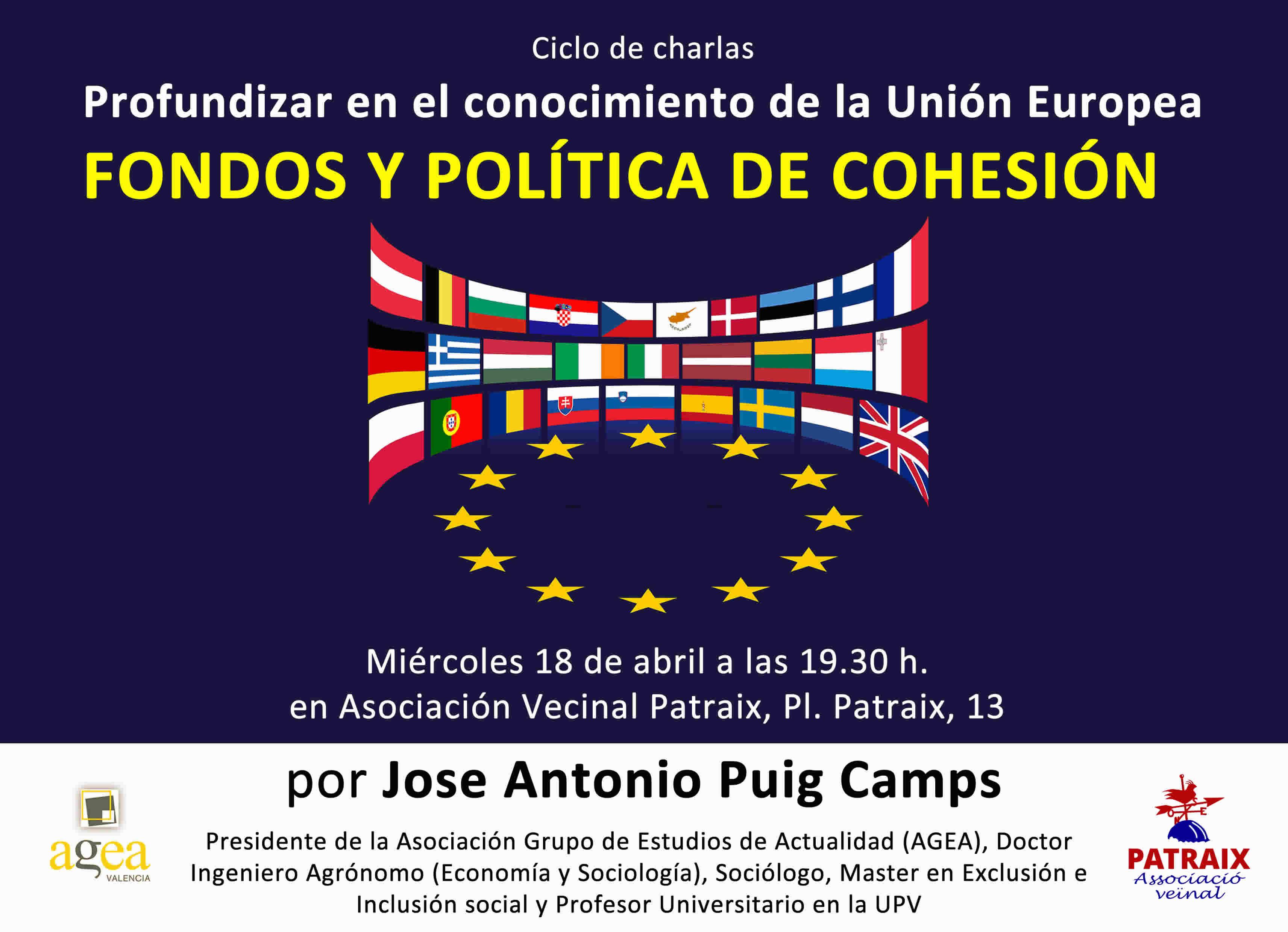 Ciclo de charlas: Profundizar en el conocimiento de la Comunidad Europea