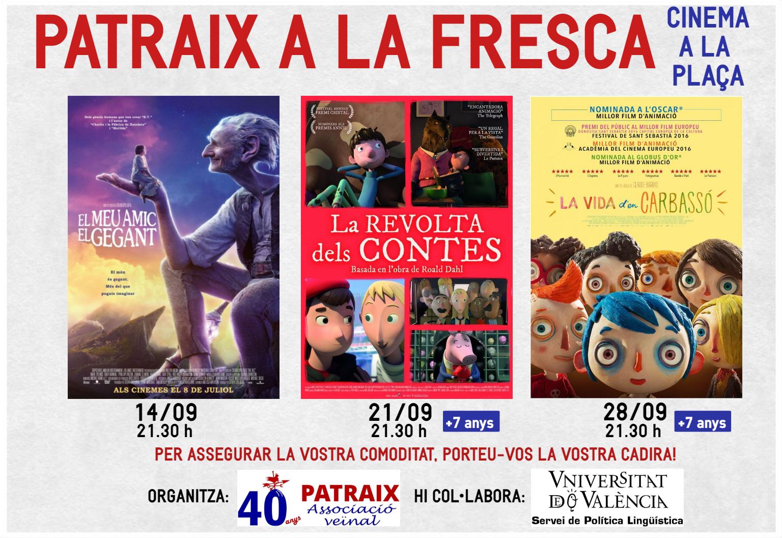 PATRAIX A LA FRESCA 2018