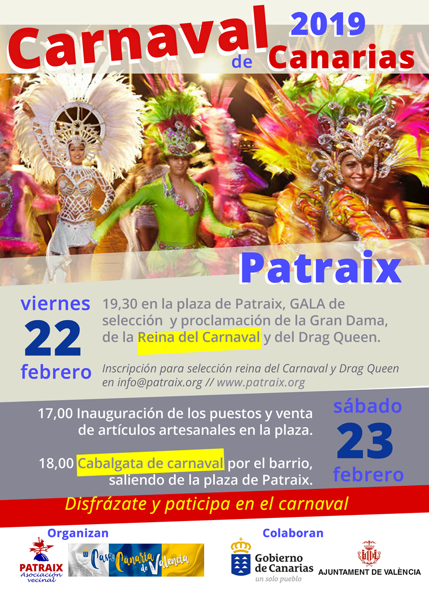 Carnaval Canario en Patraix