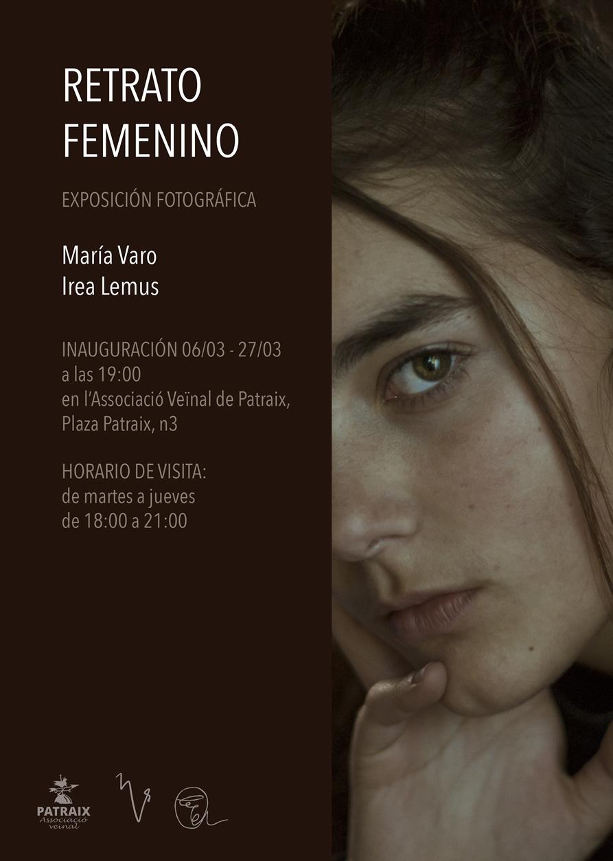 """Exposición """"Retrato Femenino"""" por Irea Lemus y María Varo"""