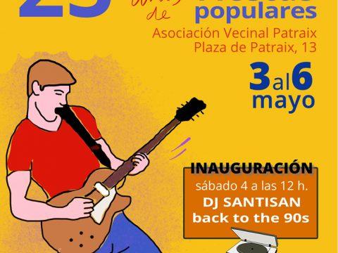 Exposición carteles Fiestas populares de Patraix