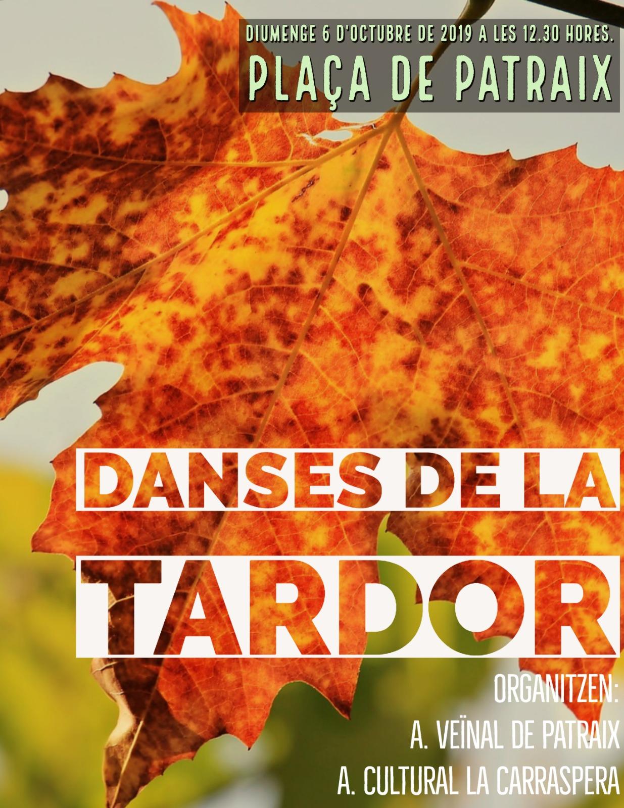 Domingo con encuentro de paellas, Dança de la Tardor, concurso de disfraces y circo en las Fiestas Populares de Patraix