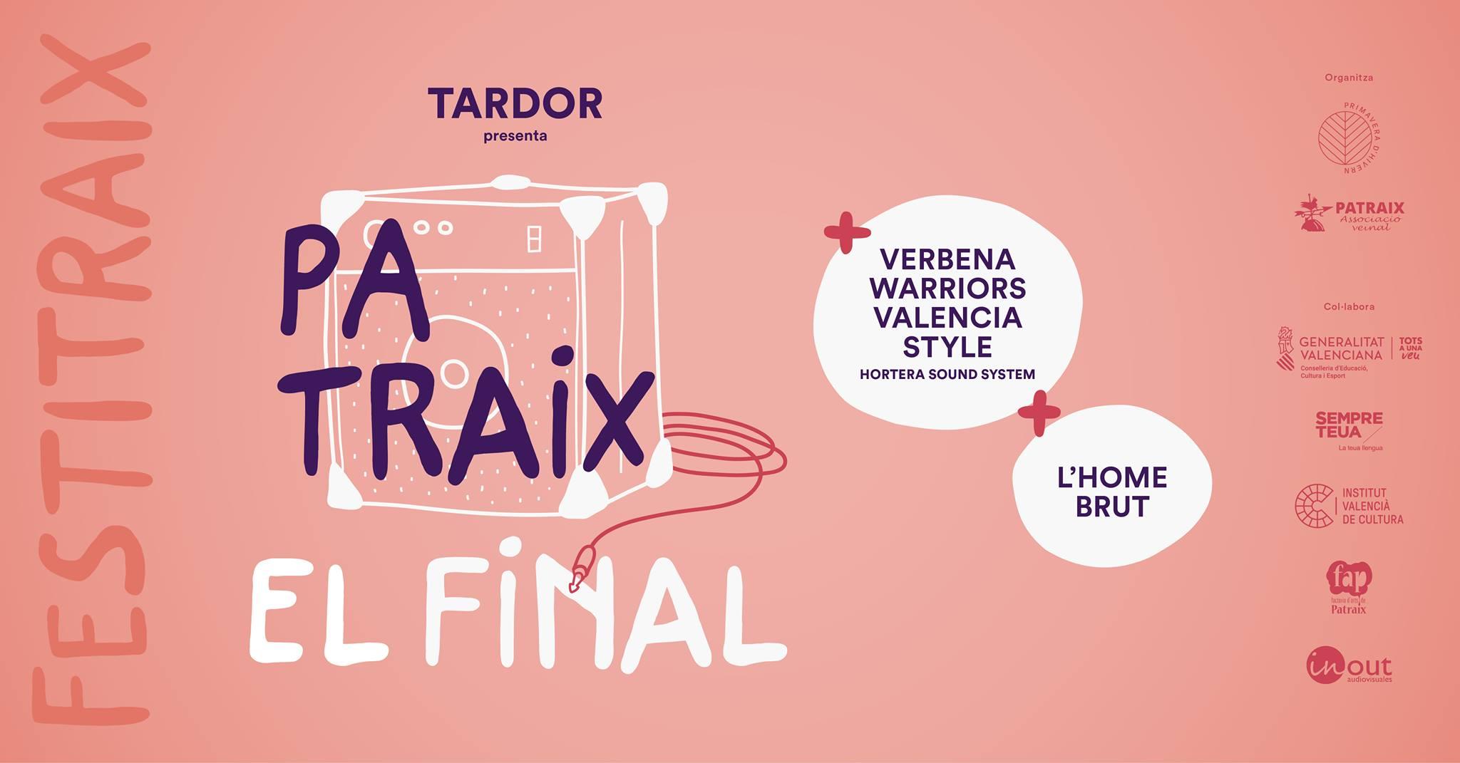 Tardor finalitza demà la gira del disc Patraix dins del Festitraix
