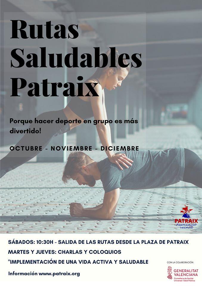 Rutas saludables por Patraix