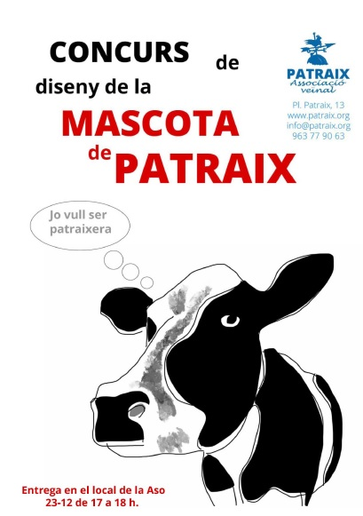 Concurso mascota de Patraix