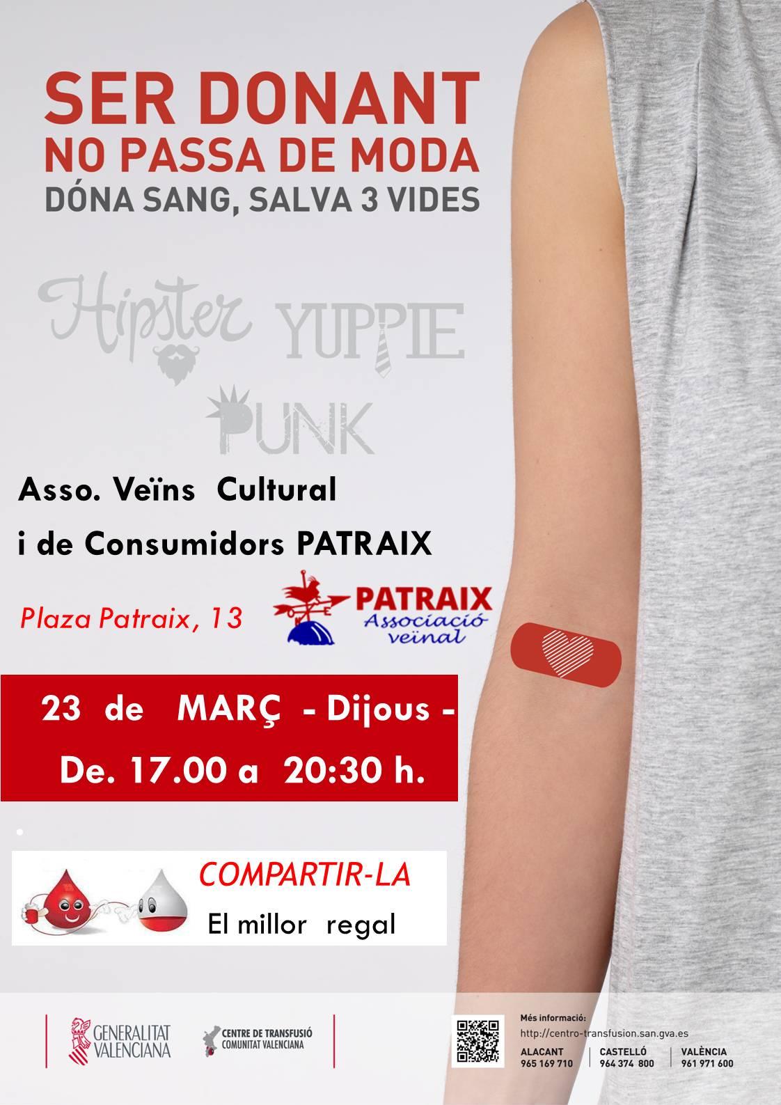 Donación de sangre 23/03/17