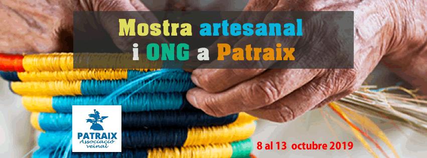 El martes se inaugura la XXIV Mostra artesanal, antes de la cena y la discomóvil en las Fiestas Populares de Patraix