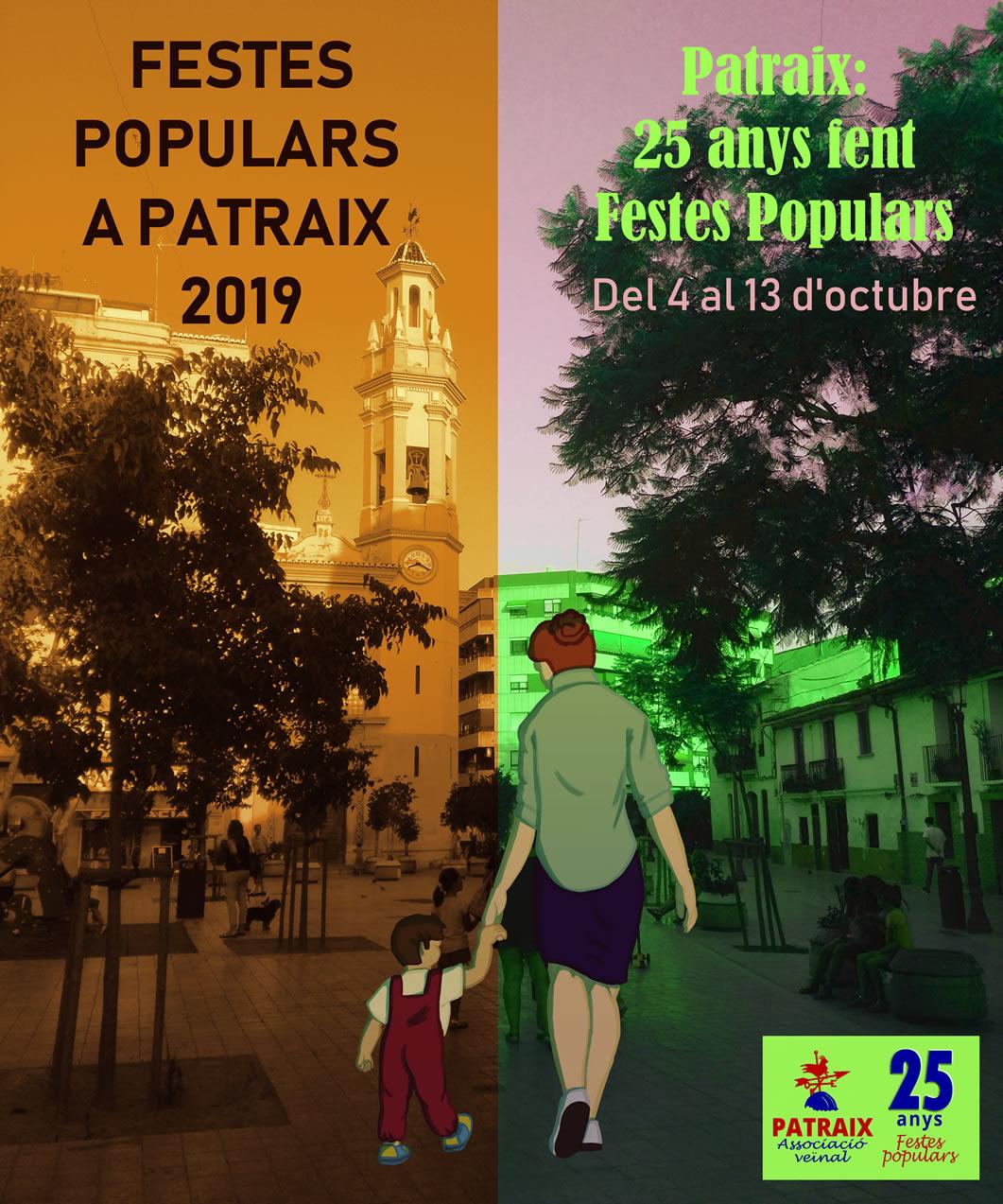 Las Fiestas Populares de Patraix concluyen el domingo con nuevas actividades participativas