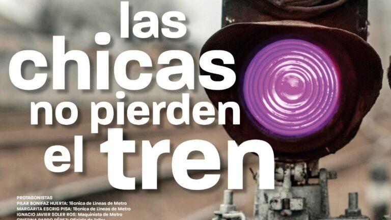 Proyección de  'Las chicas no pierden el tren', de Paqui Méndez